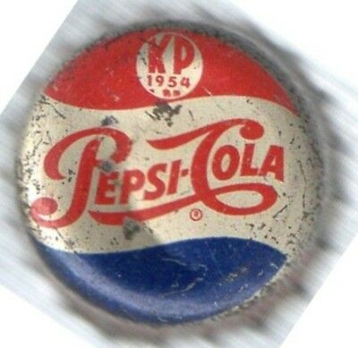 Kp 1954 Pepsi  Cola Double Dot Soda Bottle Soft Drink Crown / Cap