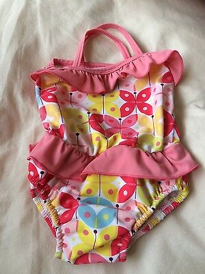 small babies swimming costume. mothercare. 3 - 9 months.