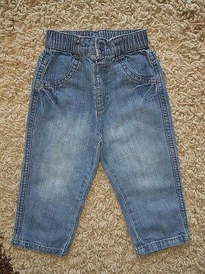 Baby Clothes- Baby Boys Lightweight Jeans, 6-9 Months