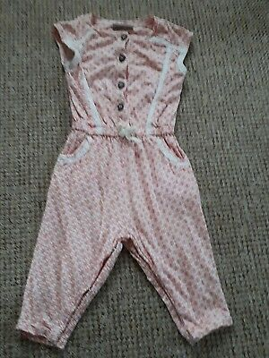 NEXT Baby Girl Summer body/ playsuit / onesie size 6-9months