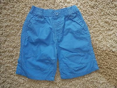Baby Clothes- Baby Boys Blue Cropped Bottoms Trousers, 6-12 Months