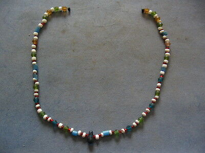 Ancient Celtic Colored Glass Beads Pearls Necklace 500-300 B.c.