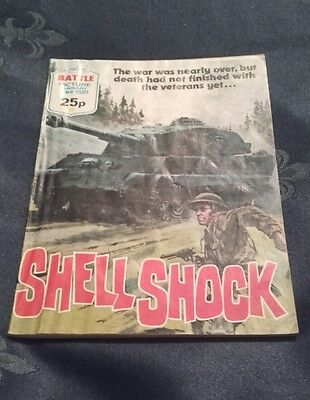 Shell Shock - Battle Picture Library No 1581 (1983)