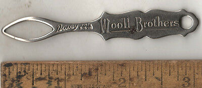 Original Antique Shoe Button Hook Compliments Woolf Bros. Daisy PAT. 6-6-16