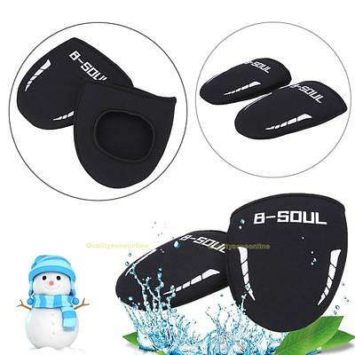 1 Pair Winter Bike Bicycle Cycling Shoes Toe Covers Overshoes Warmer Protector