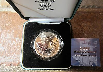 2001 1Oz Britannia Proof Coin