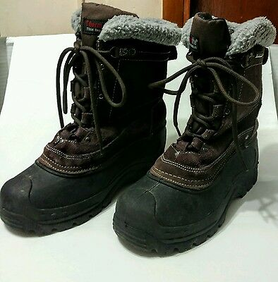 Northside Boots Women Winter Size 9 Leather Rubber Combo ThermoLite