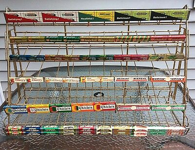 LARGE Vintage Beech-Nut Chewing Gum & Life Savers Candy Rack / Holder / Display