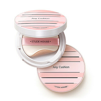 [ETUDE HOUSE] Any Cushion All Day Perfect (SPF50+/PA+++) 14g 6 Color