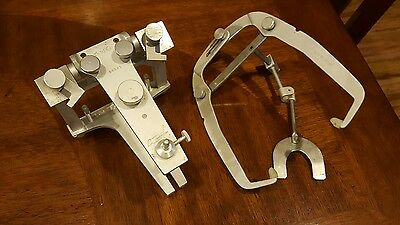 Whipmix articulator with facebow and bitefork