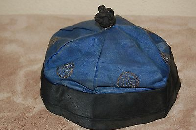 Authentic Chinese Oriental Qing Dynasty Hat