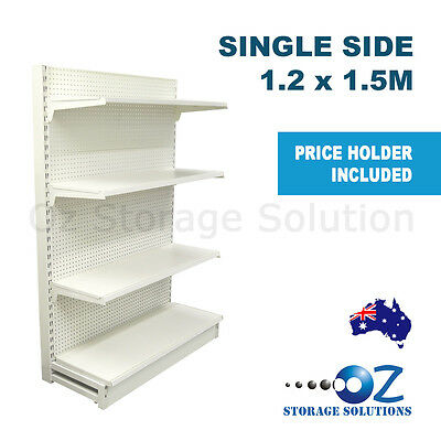 1.2 x 1.5M Single-side Retail Gondola Store Supermarket Shelving Shop Display