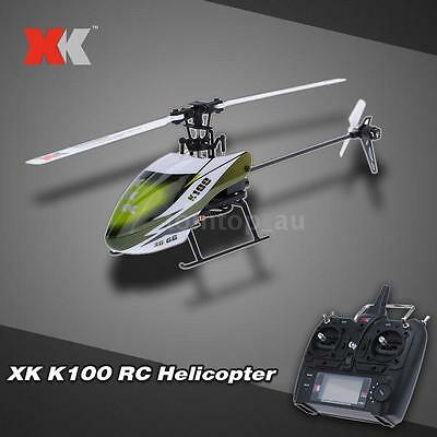 Original XK Falcon K100 6CH 3D 6G System RTF RC Helicopter M4H5