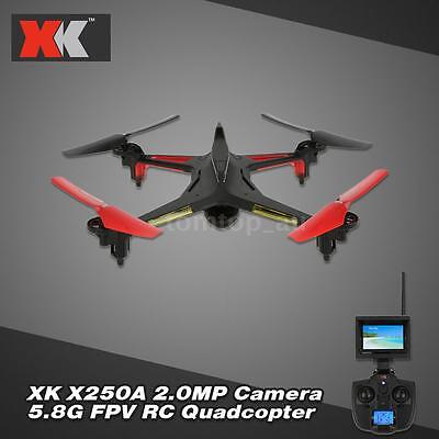 XK Alien X250A 2.4G 4CH 6Axis Gyro 2.0MP Camera Quadcopter One Key Return M9I2