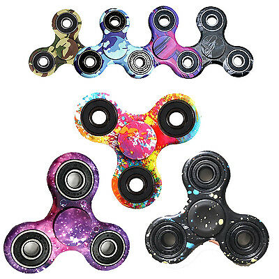 New 3D Fidget  Finger Spinner hand Focus Stress Reliever Toys For Kids Adults