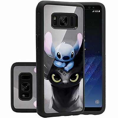 Samsung Galaxy S8 Case, Onelee - Stitch [Never fade] Shockproof Protective Prem