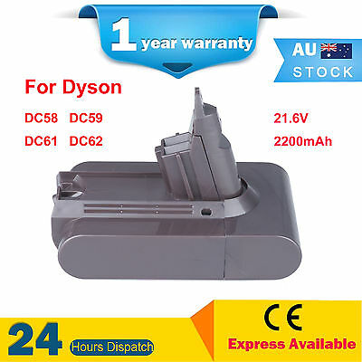 2200mAh 21.6V Vacuum Cleaner Replacement Battery For Dyson DC58 DC59 DC61 DC62
