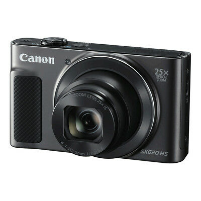 NEW Canon PowerShot SX620 HS 20.2MP Digital Compact Camera BLACK