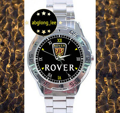 CLASSIC Rover 75 Muscle Car CUSTOM CHROME MEN'S MENS WATCH WRISTWATCHES