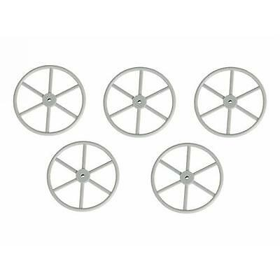 Graupner 40mm Steering Wheels Pack of 5 For Model Boats Etc
