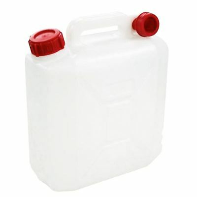 2 X New Milestone 10 Litre Jerry Can Water Container Camping Car Carrier