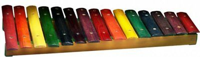 Stagg XYLO-J15 RB Coloured 15 Key Xylophone