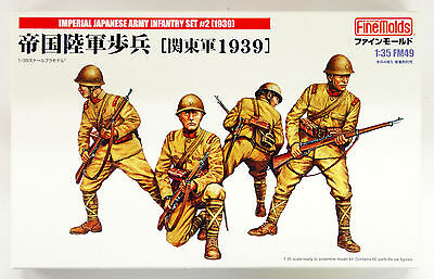 Fine Molds Imperial Japanese Army Infantry Set #2 1939 Scala 1:35 Cod.fm49