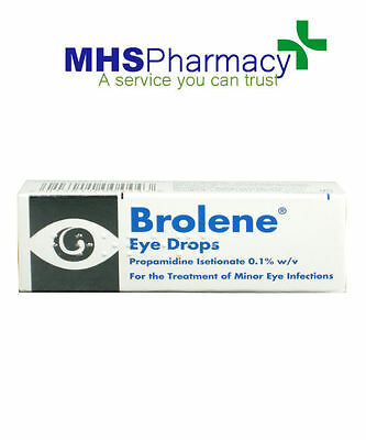 2 packs Brolene 10ml Bacterial Eye Infections Drops Conjunctivitis,Blephritis