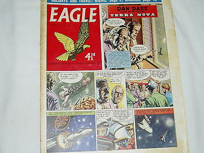 """Vintage"" EAGLE COMIC..(6th June 1959)..Vol 10..No 23...DAN DARE..FREE POSTAGE"