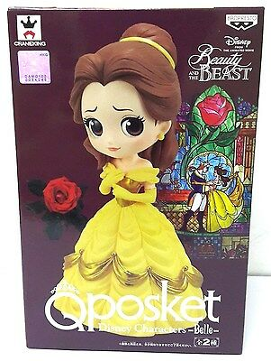 Banpresto Q Posket Disney Characters Beauty And The Beast Belle Normal Color