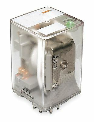 Dayton Plug In Relay, 8 Pins, Octal Base Type, 10A @ 277VAC/30VDC Contact