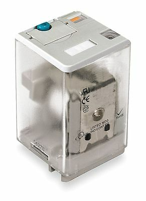 Dayton Plug In Relay, 8 Pins, Square Base Type, 10A @ 277VAC/30VDC Contact