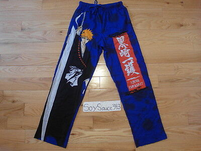 New Loot Crate Anime November 2016 Bleach Lounge Pajama Ichigo Pants Size Small