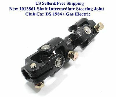 US New 1013861 Shaft Intermediate Steering Joint Club Car DS 1984+ Gas Electric