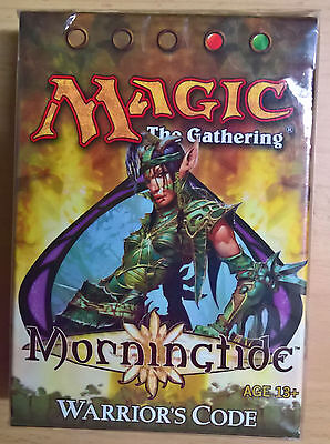 Magic the Gathering - Morningtide Warrior's Code - Theme Deck (Mint, Sealed)