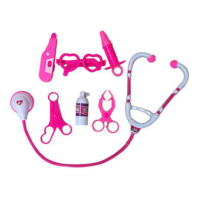 Kids Educational Pretend Doctor Role Medical Kit Roleplay Simulation Toy Set