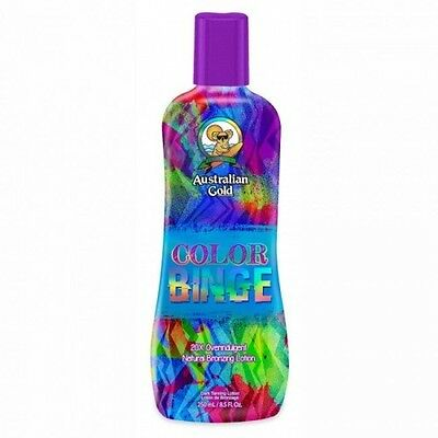 Australian Gold COLOR BINGE 20X Overindulgent Natural Bronzer Tanning L. 250ml