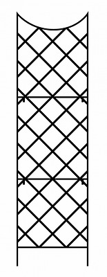 Panacea 89655 Giant Trellis, Includes Wall-Mounting Brackets, 108-Inch Height by
