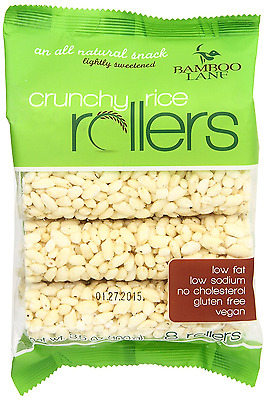 Bamboo Lane Crunchy Rice Rollers, 3.5 Ounce (Pack of 4)