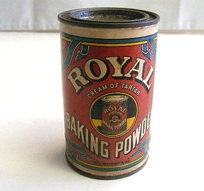 Vintage Royal Baking Powder Cream Of Tartar Collector Tin