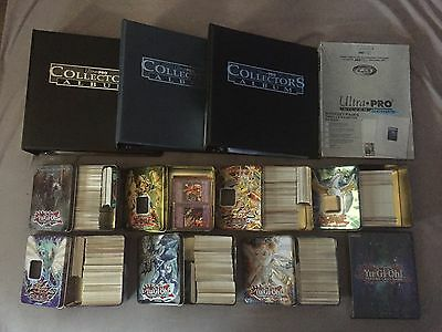 HUGE LOT of 3500+ Yu-Gi-Oh! Cards Collection - w/ Binders, Tins etc.
