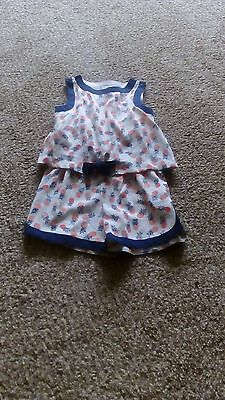 Girls Next Pinapple Playsuit Age 5 Years EXCELLENT