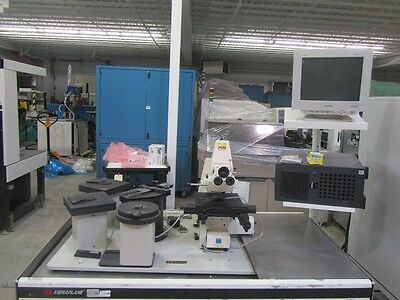 Carl Zeiss Microscope with Kinetics Vibraplane Isolation Table Vibration