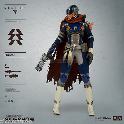 Destiny Hunter 1:6 Scale Videogame Action Figure ThreeA Toys Sideshow AVAILABLE!