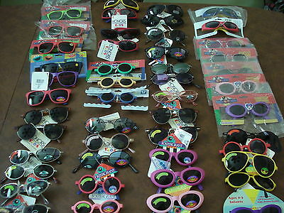 FOSTER GRANT & HONORS Children's Sunglasses Lot of 48 NEW WITH TAGS - Closeouts!