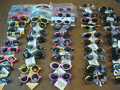 FOSTER GRANT & HONORS Children's Sunglasses Lot of 50 NEW WITH TAGS - Closeouts!