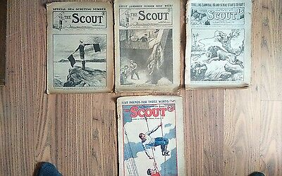 the scout comic uk
