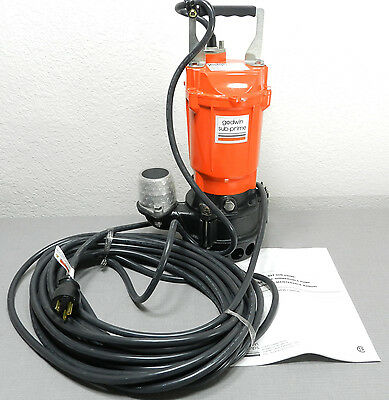 NEW Godwin Sub Prime Submersible Trash Pump GST-10-2 (flygt gorman rupp tsurumi)