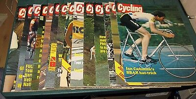Cycling  Magazine 14 Issues 1982 (1) Collectible