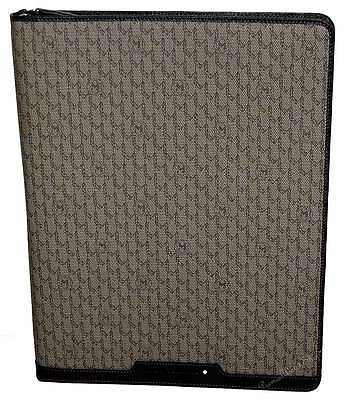 NEW Mont Blanc Signature Fabric & Leather Large Notebook-Notepad 111116